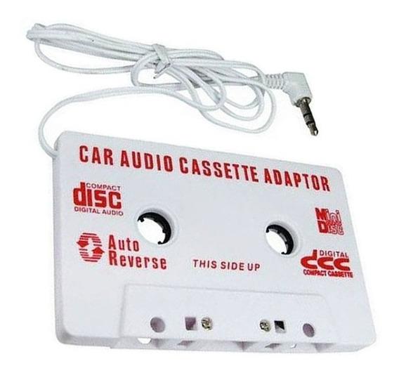 Adaptador Fita Cassete K7 Mp3 Celular iPhone Smartphone P2
