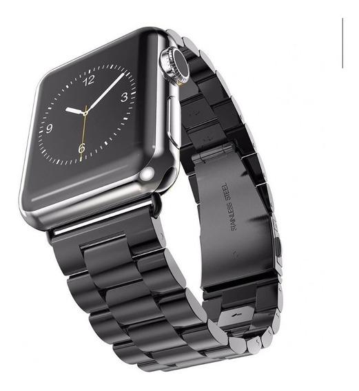 Correa Extensible Apple Watch 38mm 40mm Metal Inoxidable