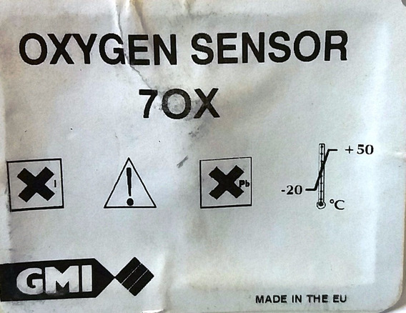 Sensor Oxigenio 70x - Gmi 65015
