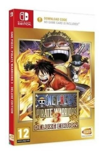 One Piece Pirate Warriors 3 Deluxe Edition Switch Lacrado