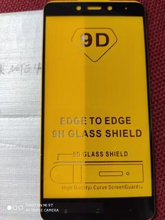 Cristal Templado 9d Xiaomi Redmi Note 4 Mtk Led Derecho