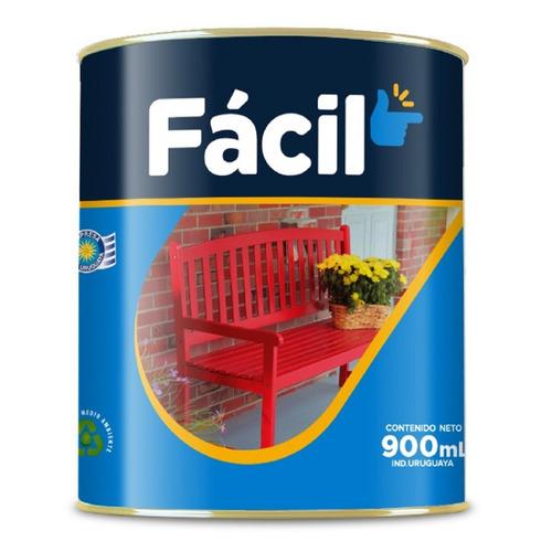 Esmalte Sintético 3.6 L Fácil Belco - Color Gris Perla