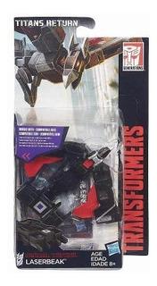 Muñeco Transformers Laserbeak,kickback,bumblebee Gnaw Hasbro