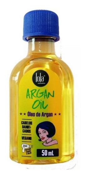 Óleo Argan Y Pracaxi Aceite Capilar Lola Cosmetics Liberado