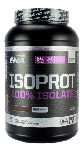 Imagen 1 de 1 de Isoprot Whey Protein Ena 100% Isolate 2lb Rapida Asimilacion