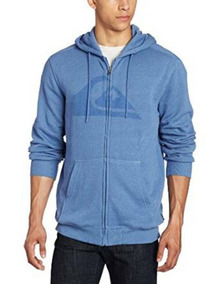Blusa Moletom Quiksilver Watterson Sweatshirt Blueblood Blue