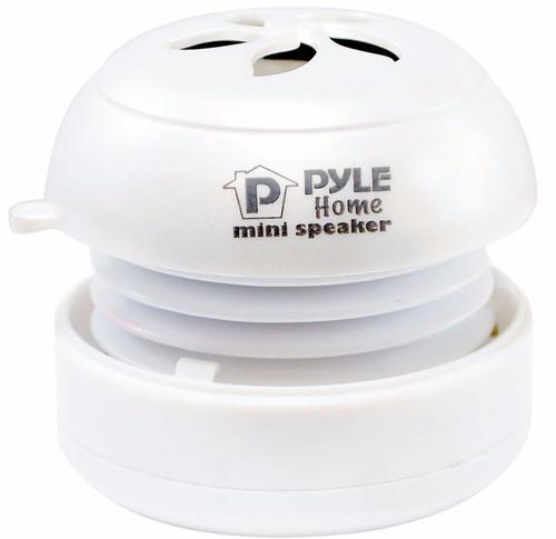 Mini Parlante Portatil Pyle Pms2w Usb 3,5 Mm X2 Unidades