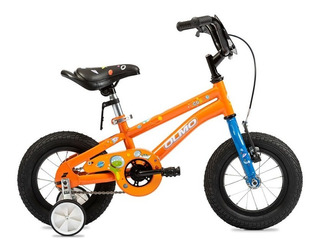 Bicicleta Infantil Nene Niños Olmo Cosmo Pets R. 12 Verde