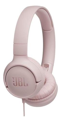 Imagen 1 de 3 de Audífonos JBL Tune 500 rosa