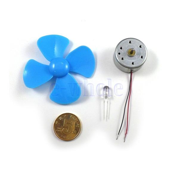 Mini Turbina De Vento Led Kit/2