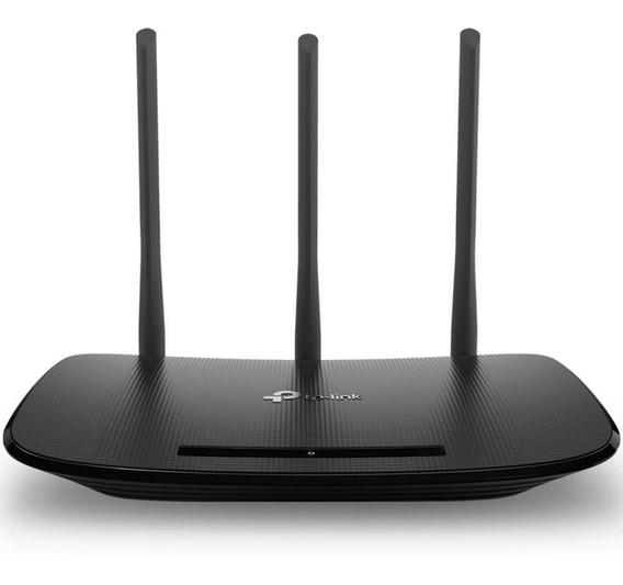 Roteador Wireless Tp-link Tl-wr940n 450mbps 3 Antenas
