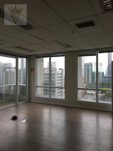 Conjunto Para Alugar, 254 M² Por R$ 20.000,00/mês - Vila Olímpia - São Paulo/sp - Cj0019