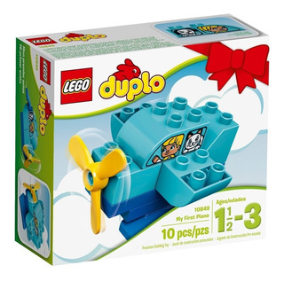 Lego Duplo Mi Primer Avion 10piezas Desde 1,5 Años