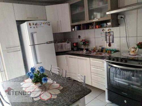Sobrado 138 M² - Venda - 3 Dormitórios - 1 Suíte - Vila Marquesa De Santos - Ribeirão Pires/sp - So0546
