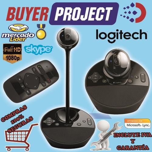 Imagen 1 de 3 de Webcam Videoconferencia Hd 1080p Logitech Bcc950 Usb Ptz