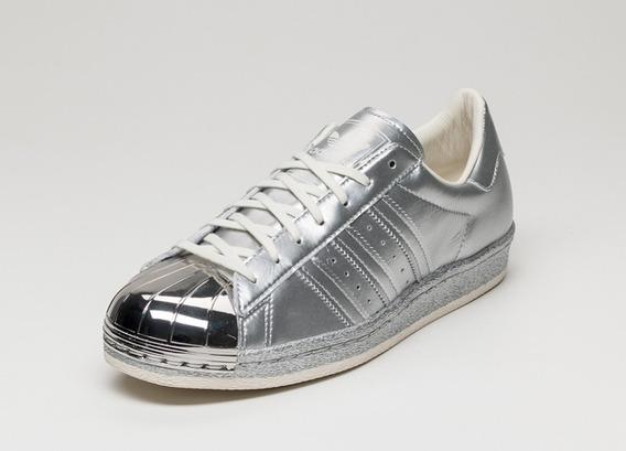 Tênis adidas Superstar 80s * Pacote Cromado * Novo