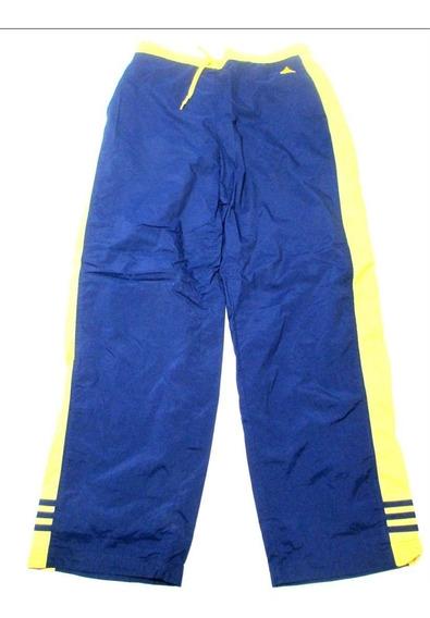 Pantalon adidas Azul Y Amarillo Talle Xl