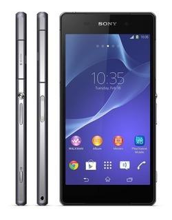 Sony Xperia Z2 Preto D6543 20.7 Mp Quad Core Tv Gps 360