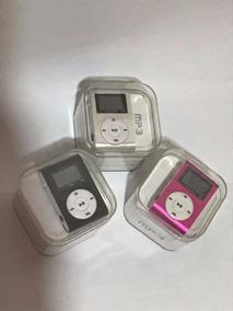 Kit Com 3 Mp3 Player Música Leve E Compacto