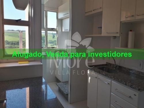 Lindo Apartamento 3 Quartos, Sendo 1 Suíte, À Venda Em Villa Flora, Sumaré/sp! - Ap00277 - 33415351