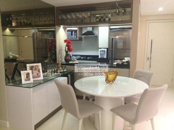 Apartamento 3 Quartos, 2 Vagas, Lazer Completo - Ap2551
