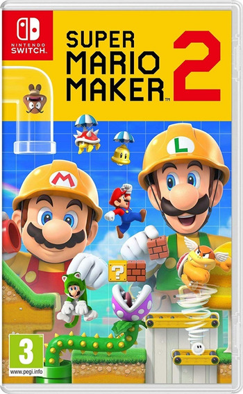 Super Mario Maker 2 - Mídia Física - Switch - Novo