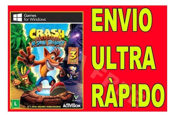 Crash Bandicoot N. Sane Trilogy - Jogo Para Computador