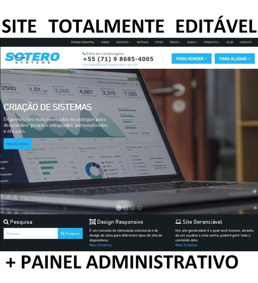 Script Php - Site Para Empresas Com Painel Administrativo