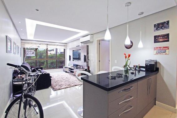 Apartamento Em Petrópolis Com 2 Dormitórios - Vp87162