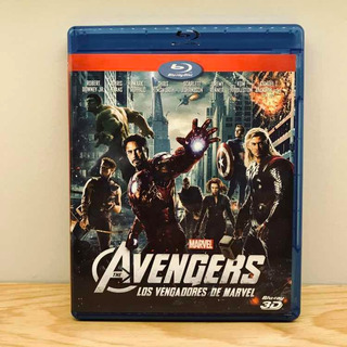 The Avengers - Los Vengadores De Marvel Blu-ray 3d Original
