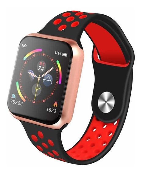 Smartwatch F9 Sensor De Ritmo Cardíaco Presión Arterial