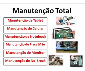 Curso Manutenção Celular Tablet Monitor Notebook + Brindes
