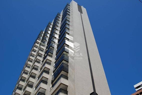 Flat Com 1 Quarto À Venda, 48 M², Vista Mar, Mobiliado - Meireles - Fortaleza/ce - Fl0040