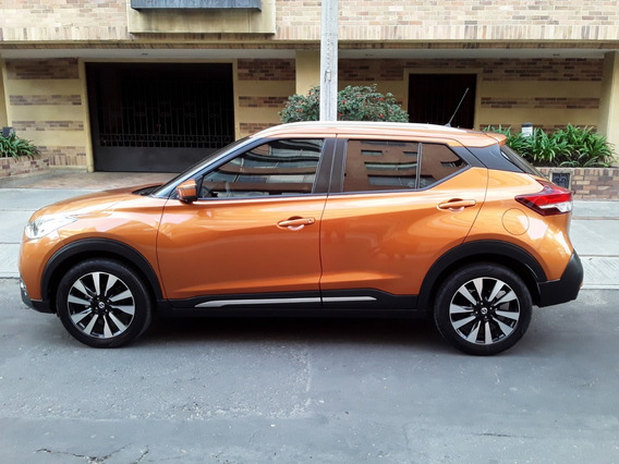 Nissan Kicks 2019 Exclusive Rin 17 Lujo Automatico Piel
