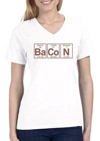 Camiseta Amo Bacon Breaking Bad Series Geek Engraçada 1009