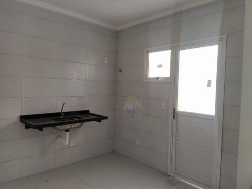Apartamento Com 2 Dormitórios À Venda, 62 M² Por R$ 345.000,00 - Jardim Ocara - Santo André/sp - Ap1441