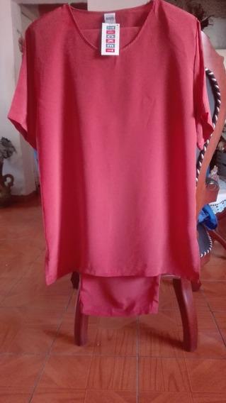 Conjunto De Blusa Y Pantalon Nuevo