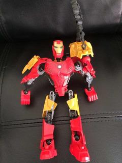 Transformers Iron Man Articulado Gde 20 Cm!!