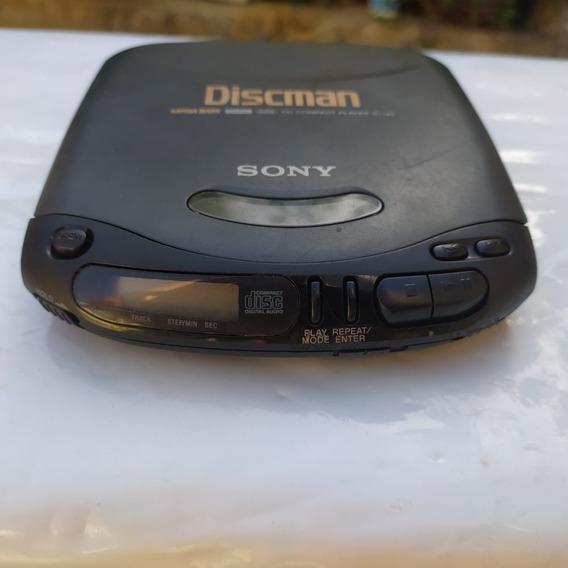 Discman Sony D143- Cd Player Portátil
