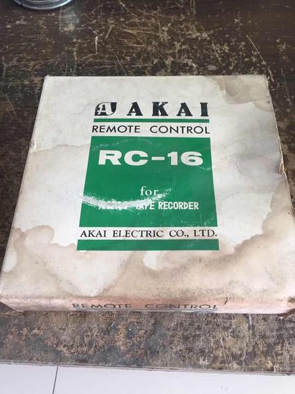 Akai Rc-16 Controle Remoto