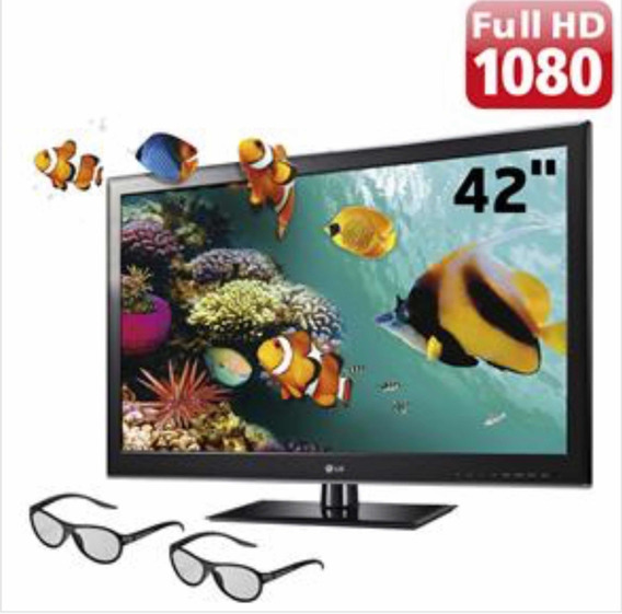 Tv 42 Cinema 3d Led Lg 42lm3400 Full Hd