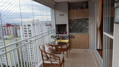 Apartamento Com 3 Dormitórios À Venda, 98 M² Por R$ 780.000 - Santa Paula - São Caetano Do Sul/sp - Ap2045