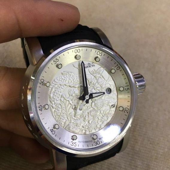 Relógio Invicta Yakuza Vidro Safira - Resistente A Água