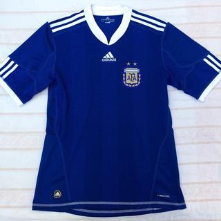 P79912 Camisa adidas Argentina Away 2010 M Azul Fn1608