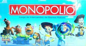 Monopolio Toy Story Nuevo Juego Mesa Juguetes Niño Niña