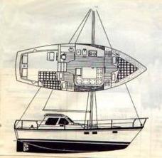 Motovelero Aries Trophy Alistado Para Navegación Marítima.
