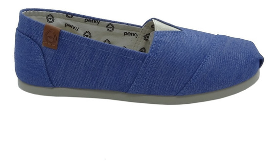 Alpargata Perky Light Chambray Ac009