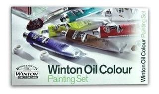 Winsor & Newton Wintonpintura Al Óleo Pintura Set Cada