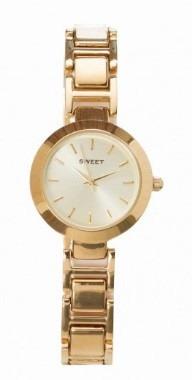 Reloj Sweet 7312 Gold Acero Garantía 12m Tienda Oficial