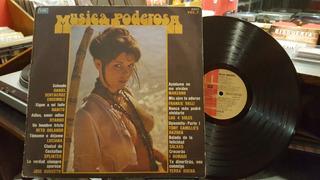 Musica Poderosa Vol. 7 Rabito Lp Disco Vinilo Ex